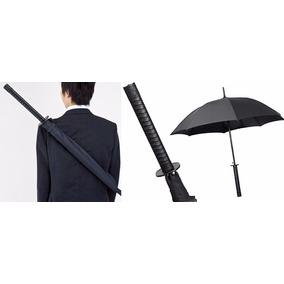 Paraguas Con Mango Espada Samurai Katana Con Correa Japones