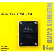 Memory Card Para Ps2 64mb (cod 1762)