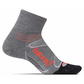 Medias Feetures Merino + Cushion Quarter Running Unisex