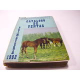 Caballos Catalogo De Ventas 1982 Chile