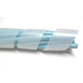 Tubo Espiral Organizador Cable,manguera, Amarracable Gusano