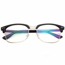 Armação Óculos De Grau Acetato E Metal Masculino Feminino Pa
