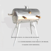 Churrasqueira A Bafo Feita Em Aluminio..