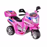 Moto De Niñas Eléctrica Bmw Engallada De 1 A 5 Años Rosada