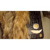 Amuleto Piedra Alfa Y Colmillo Coyote