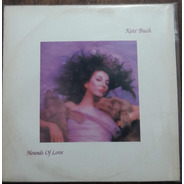 Lp Vinil Vg Kate Bush Hounds Of Love 1a Ed Br 1987 Enc Raro