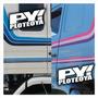 Calco Scania 113 112 Frontal - Top Line Calcomania Camion