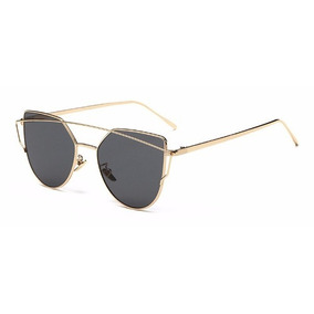 Gatinho Espelhado Redondo - Óculos De Sol no Mercado Livre Brasil 485f615416