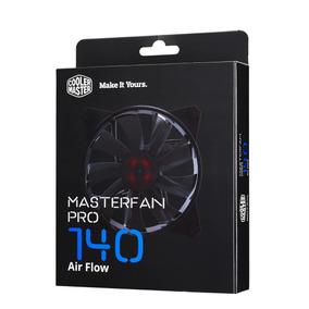 Cooler Master Ventilador Fan Air Flow 140mm 14cm P/ Gabinete