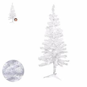 Árvore Natal Pinheiro Branca 120cm 110galhos