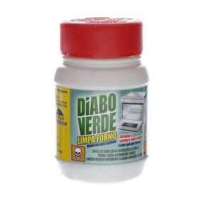 Limpa Forno Com 250g Diabo Verde Removedor De Gordura Nobel