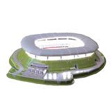 Rompecabezas 3d Estadio Omnilife Del Chivas De Gdl De México