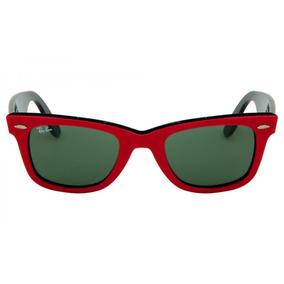 235f29e4311ab Ray Ban Wayfarer Color Rojo - Anteojos de Sol Ray Ban de Hombre en ...
