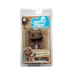 Sackboy Happy Little Big Planet Neca Envio Gratis!