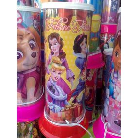 Centros De Mesa Recuerdos Lamparas Princesas Disney