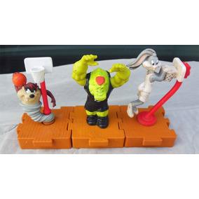 Lote De 3 Muñecos Looney Tunes Space Jam Mc Donalds Warner
