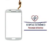 Tela Touch I8262 Samsung Galaxy S3 Duos Branco Rj !!