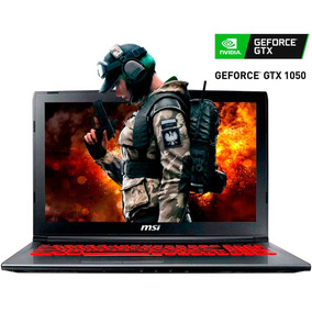 Laptop Gamer Msi Gv62 I7 8gb 1tb Nvidia Geforce Gtx 1050 Ti
