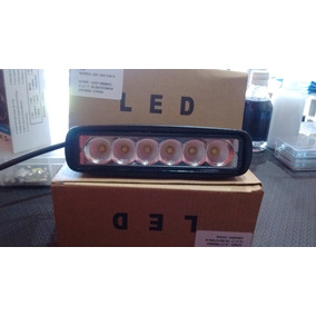 Barra Led 18w Ideal Para Faro Auxiliar