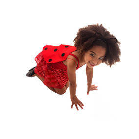 Joaninha - Fantasia Infantil Lezoo - 4 Anos