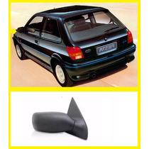 Retrovisor Ford Fiesta 89 90 91 92 93 94 95 Manual Esquerdo