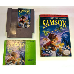 Little Samson Original En Caja Nintendo Nes Retromex Tcvg