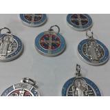 Se Vende Esmaltada Medalla De San Benito En Tamaño Grande