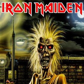 Cd Iron Maiden - Album (1980) Lacrado