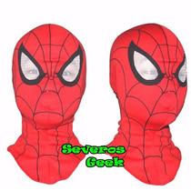 Mascara Fantasia Homem Aranha Marvel Algodão Perfeita