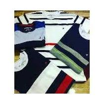 Kit Camisa Camiseta Culina Brooksfield C/ 5 Peças Listradas