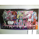 Banner Painel (pronto) Monster High 2.30 X 1.30