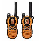 Kit 2 Radio Walkie Talkie Motorola Mt350r 56km 2 Vias Bolso
