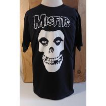 Playera Misfits Rock Bandas Mas Promociones