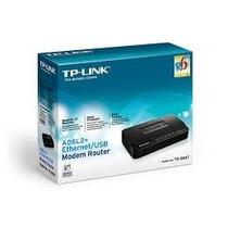 Adsl2+ Ethernet/usb Modem Router Td-8817 - Tp-link