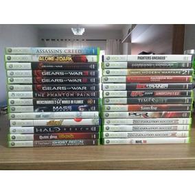Jogos P/ Xbox 360 Usados Originais M.física - R$ 35,00 Cada.