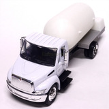 1:43 Custom Pipa Gasera Camion International 4200 Gas Lp