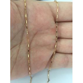 Corrente Cordão Masculino Cartier 60cm Ouro 18k Frete Grátis