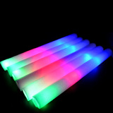 30 Barra Varita Luminosa Led Espuma Fluor Luz Neon Fiestac