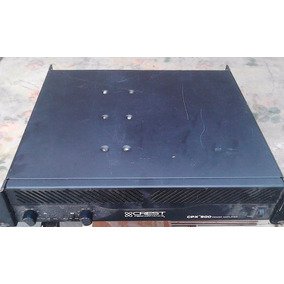 Power Amplificador Crest Audio Cpx-900