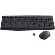 Teclado E Mouse Sem Fio Mk235 Logitech Garantia 1 Ano