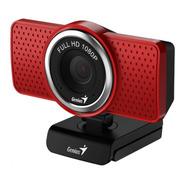 Webcam Genius Ecam Full Hd 1080p 360º Mic 2mp Zoom Skype