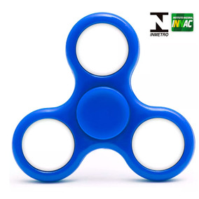 Hand Spinner Anti Stress Certificado - Fidget Light Spinner