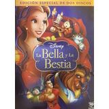 La Bella Y La Bestia Disney Edicion 2 Discos Pelicula Dvd