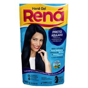 Hene Gel Rena Preto Azulado 180g