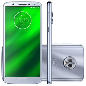 Smartphone Motorola Moto G6 Plus 64gb Azul Topázio