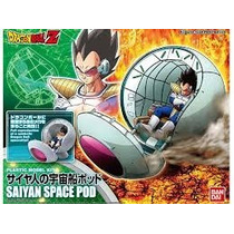 Dragon Ball Z Space Pood Vegeta Figure Rise Standart Bandai