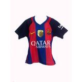 Franela Barcelona Futbol Messi Nike Niños 4.12.14
