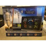 La Crosse Reloj Digital Con Alarma Y Estacion Climatica