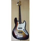 Jazz Bass Buskers Sumburst, (made In Japan)