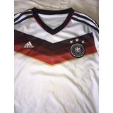 Camisa Franela adidas Original Seleccion Alemania Talla 14